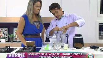A melhor gordura do mundo - Yogurt de Coco - YouTube
