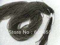 Высокое качество Полу - драгоценный камень дымчатый кварц 2 мм круглых бусин 30 нитей на много бесплатной доставкой