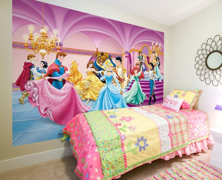 Fotomurales disney para decoraci n de habitaciones for Ideas para decorar paredes infantiles