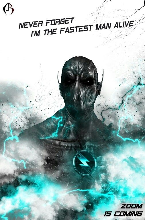 Zoom _ CW The Flash Most scary supervillian on tv.. Dc comics