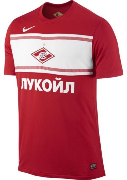 FC Spartak Moscow Home Kit 2012-13 Nike