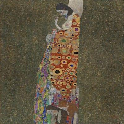 Espoir (II), par Gustav Klimt - 1907-1908 Museum of Modern Art, Nex York, USA