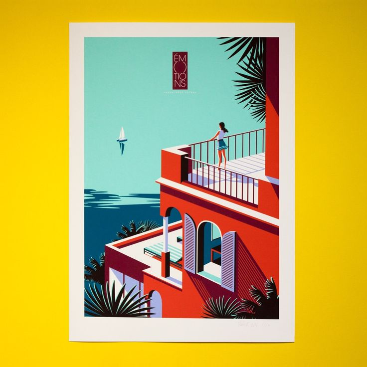Kuoni Travel Series. 50x70 cm Giclée print. Limited edition of 100. Printed on archival paper. Signed and numbered.