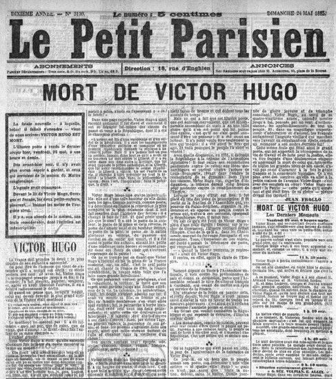17 best images about victor hugo on pinterest auguste rodin adele and port - Le journal de lattes ...