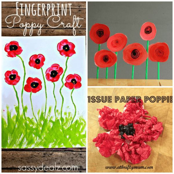 Poppy Crafts for Kids