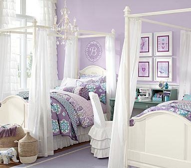 Madeline Bed & Canopy #pbkids