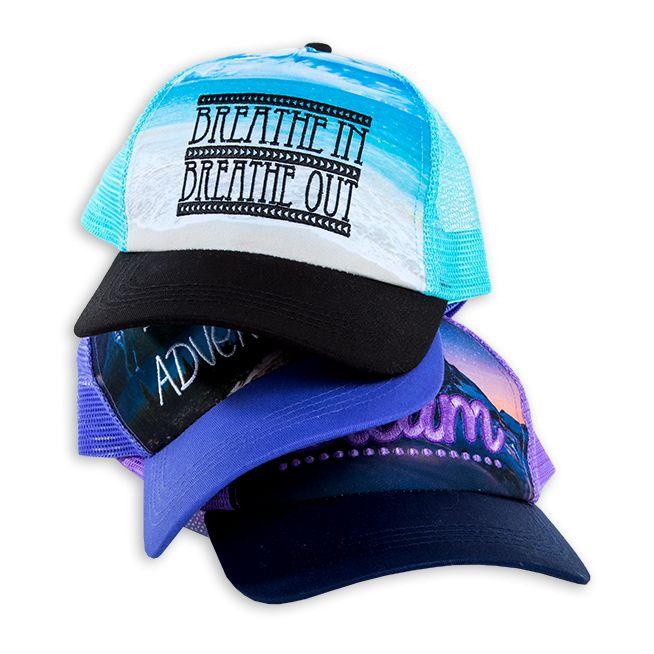 wanderlust trucker hats