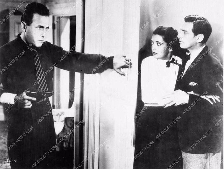 photo Humphrey Bogart Kay Francis James Stephenson King of the Underworld 1945-15