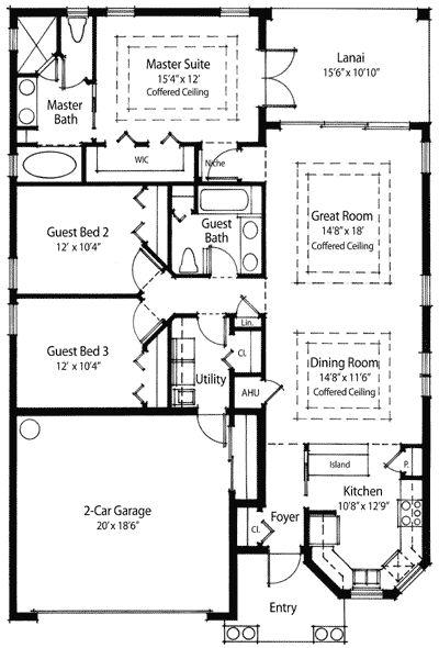 10 Best Floor Plans Images On Pinterest Bungalow House