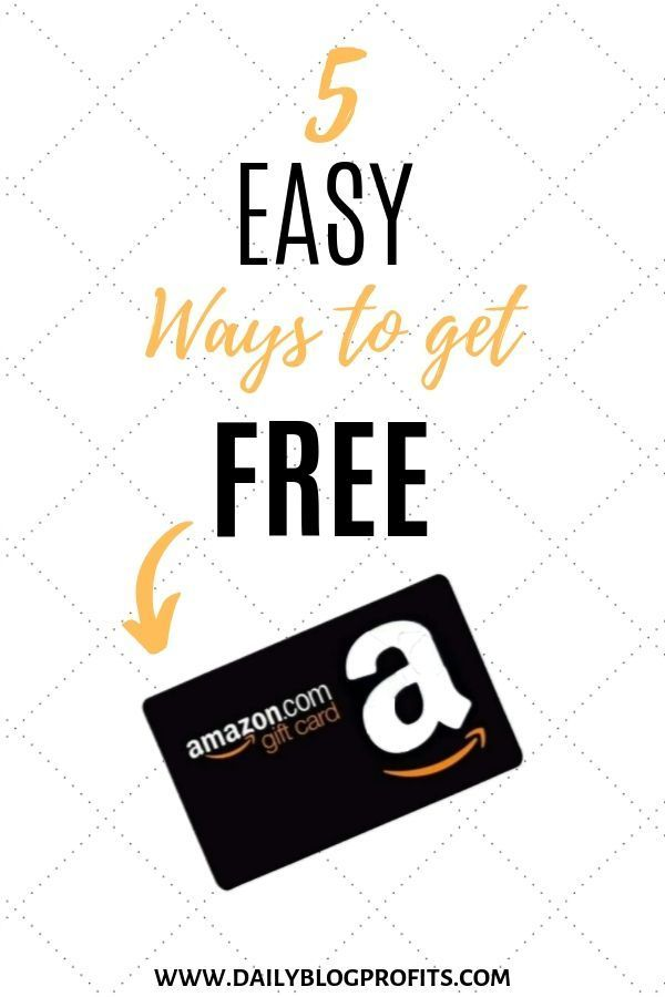 Discover 5 Simple And Easy Ways To Get Free Amazon Gift Cards Codes Amazon Gift Card Free Itunes Gift Cards Walmart Gift Cards