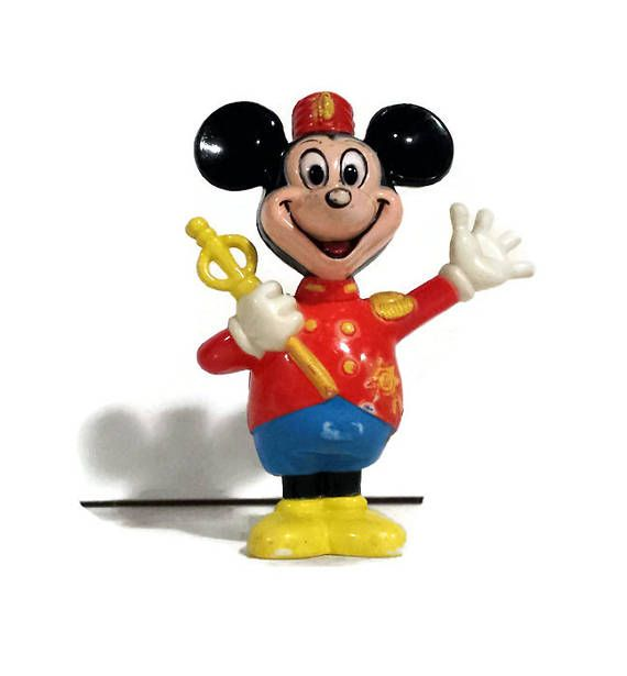 Vintage Mickey Mouse Statue Celluloid Mickey Mouse Drum