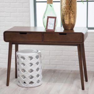 Belham Living Carter Mid Century Modern Console Table - Console Tables at Hayneedle