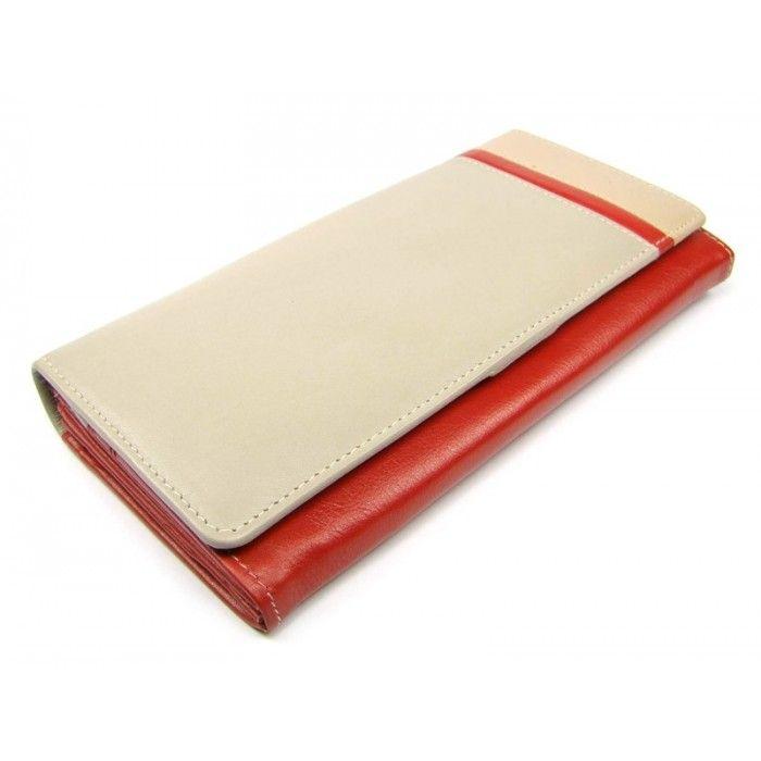 6218bb24e6c Dámská kožená luxusní peněženka - peněženky AHAL