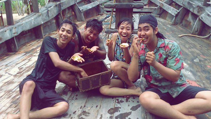 BOOTY HUNT #Activity : The Pirates Bay , Busa Dua Bali - Indonesia