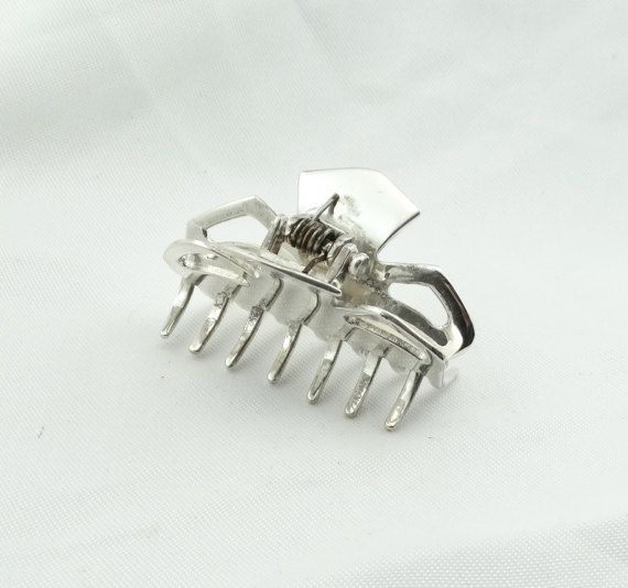 Beautiful PAT AREIAS Sterling Silver Hair by rubysvintagejewelry