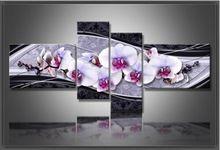 2016 nieuwe arts DIY 5D diamant borduurwerk kruissteek diamant schilderen thuis decoratieve geschenken mode bloem 4 stks handwerken(China (Mainland))
