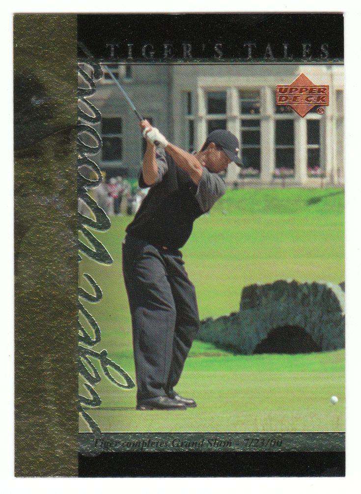 Tiger Woods # TT-26 - 2001 Upper Deck Golf Tiger's Tales