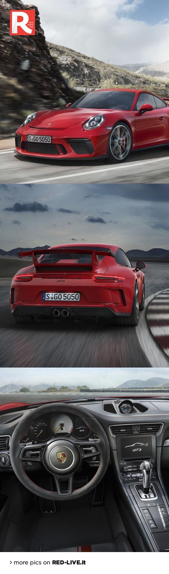Porsche 911 GT3 MY17: tra pista e strada -  Debutta a Ginevra la versione GT3 basata sulla 911 restyling. Il 6 cilindri boxer passa da 3,8 a 4,0 litri così da erogare 500 cv e portare in dote uno scatto da 0 a 100 km/h in 3,4 secondi. Rientra in gamma il cambio manuale...