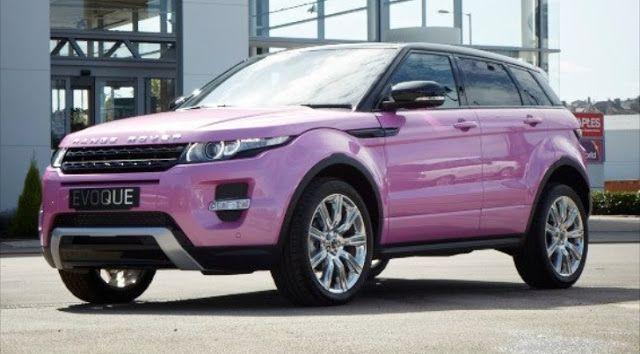 Pink Range Rover Evoque To Celebrate Car's Success | Motor Junkies