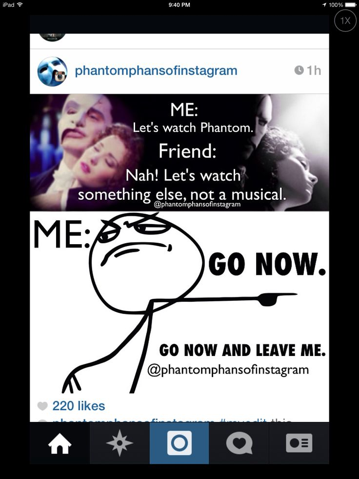 Funny cuz that's what my friends say when I suggest watching POTO.