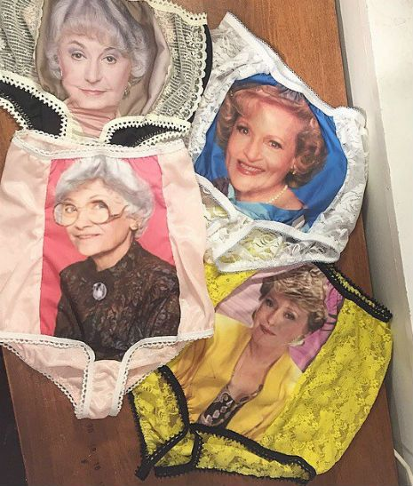The ultimate granny panties: Yep, there's a 4 pack of 'Golden Girls' underwear   Dangerous Minds