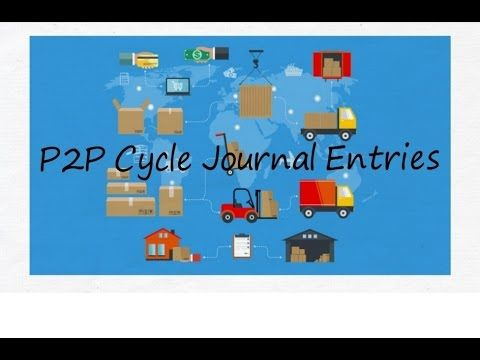 P2P Cycle Journal Entries (Procure to Pay Cycle) Practical and Easy
