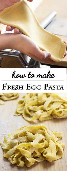 ... Fresh Egg Pasta - A Step by Step Guide | Recipe | Homemade pasta dough