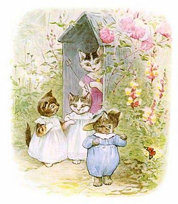 Tom Kitten - Beatrice Potter - Fairytale - Childrens' Book