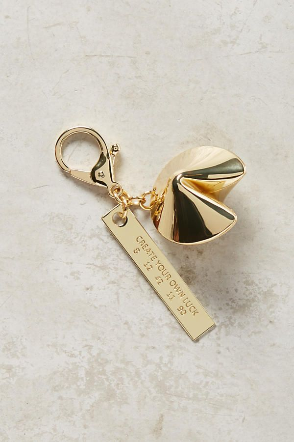 Lucky Token Keychain | Anthropologie