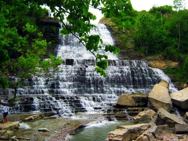 Mount Albion Falls, Ontario Canada