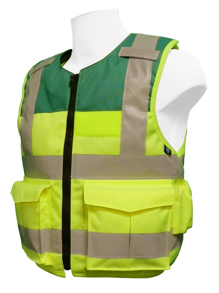 Stab Resistant Vest – Hi Viz - Overt - Paramedic - KR1 or NIJ III