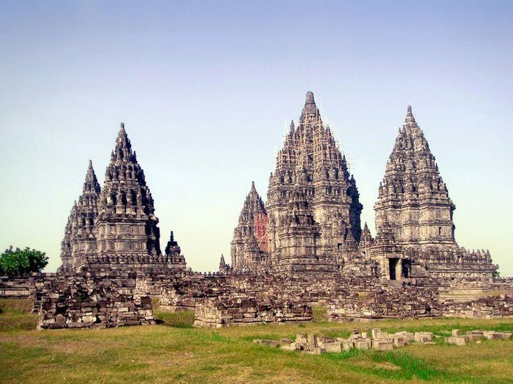 Photo de Borobudur, à Java