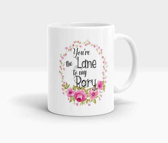 You're The Lane To My Rory Mug Gilmore Girls Mug by MugsCreations