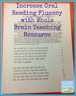 Top 10 Tips for Building Fluent Readers   Link Up!