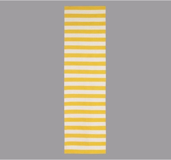 Draper Stripe Citrine Rug X 9 For The Hallway