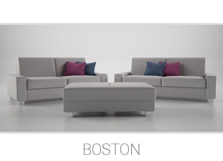 BOSTON – Univerzálna sedačka 3 2 1. Oživte svoj domov atmosférou krajiny leta, uložte sa do pohodlia kvality a zabudnite na svet za vašimi dverami. Sedačka Boston je horúca novinka, ktorá  vám poskytne netušený komfort a naučí vás umeniu vychutnávať si ničím nerušený relax. Sedacia súprava vám však prinesie nielen absolútne pohodlie, ale aj špičkový dizajn a súčasný štýl.