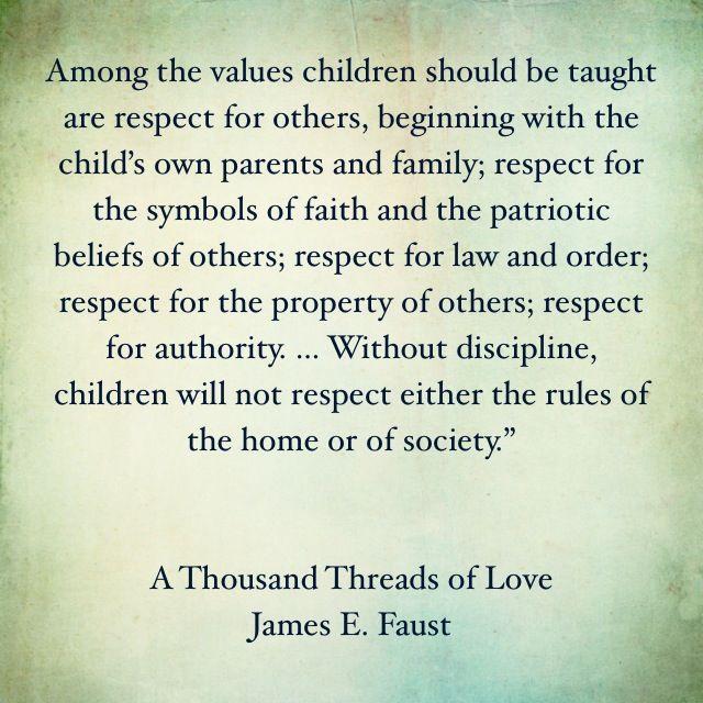 Teach Your Children Respect....PERIOD!