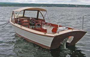 20 foot Simmons Sea Skiff We had one. We loved it! It is ...