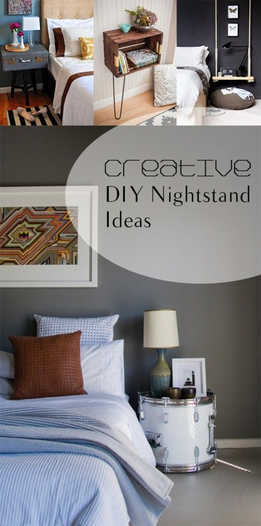 16 Creative DIY Nightstand Ideas 51 best