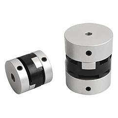 Accouplement à coulisse croisée serrage par vis HC // Oldham-type couplings clamping with grub screw // REF 23032