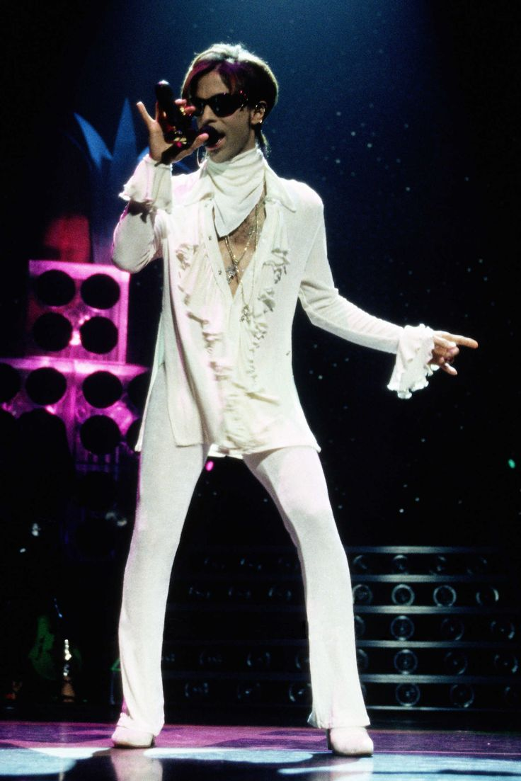 Prince, September 25, 1998 Where: Performing at Madison Square Garden in New York City.