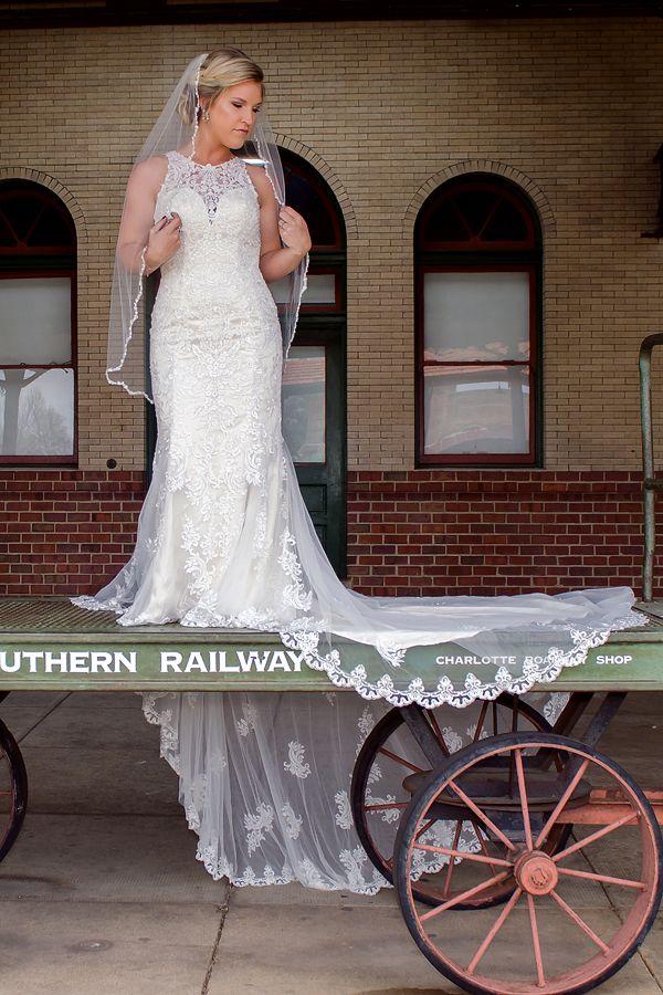 Train Station Bridal Session | Wedding, Charlotte NC Wedding ...