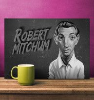 Vintage Movie Cards by rob art   illustration   Displate art   decor   wall art   inspiration   caricatures   home decor   idea   humor   gifts