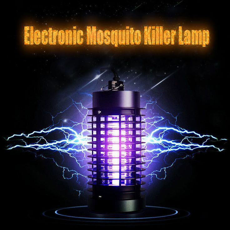 Led Anti Mosquito Killer Trap Lamp Bug Insect Electric Fly Zapper Lure Indoor #HOUSEE