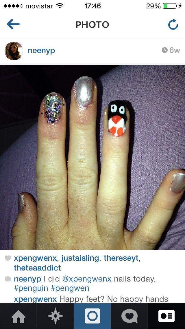 Pengwen nails