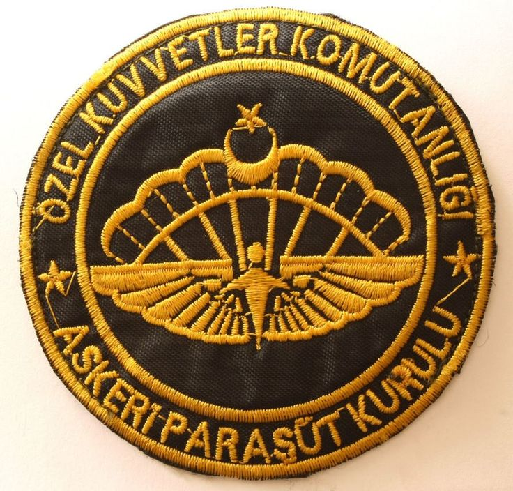 Special forces command patches