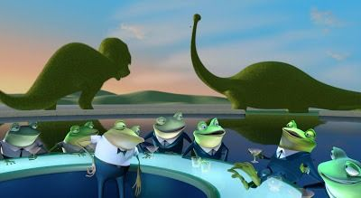 meet the robinsons mafia frogs as pets