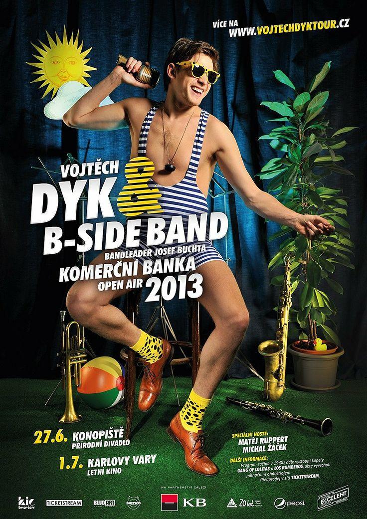 Vojtěch Dyk & B-Side Band 2013