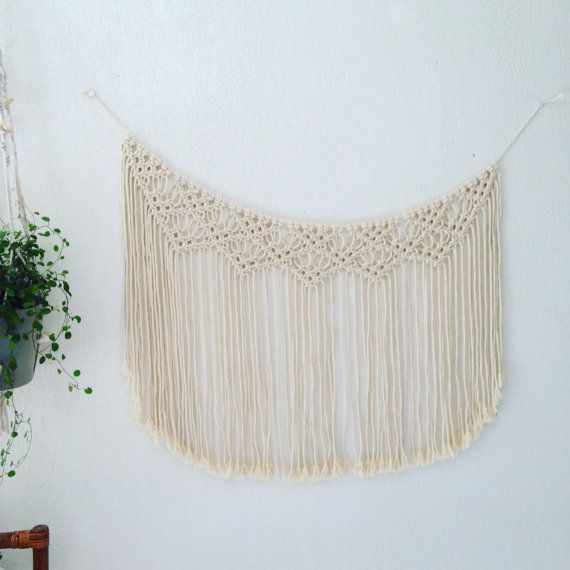 Garland / Macrame wall hanging by MyFrenchTreasuries on Etsy