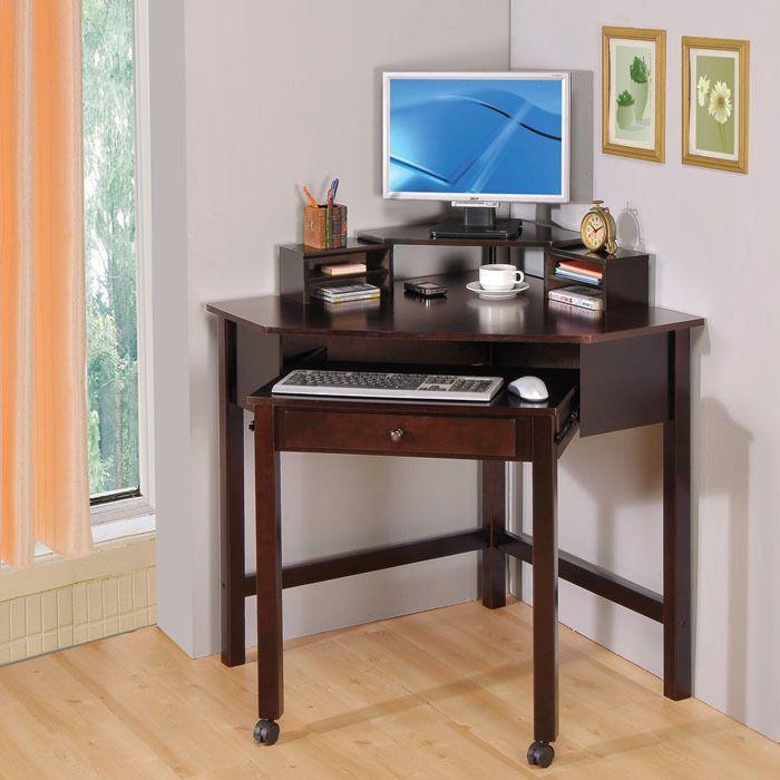 best 25 small corner desk ideas on pinterest small bedroom office small desk for bedroom and. Black Bedroom Furniture Sets. Home Design Ideas